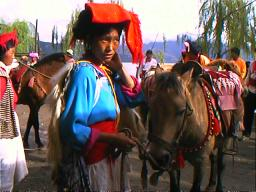 More Mosuo Women than men own ponies