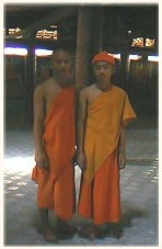 Monks in Temple