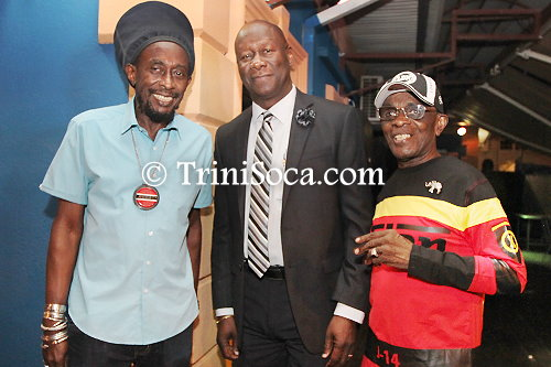Left: Lutalo 'Brother Resistance' Masimba, Dr. Rudolph Ottley and All Rounder