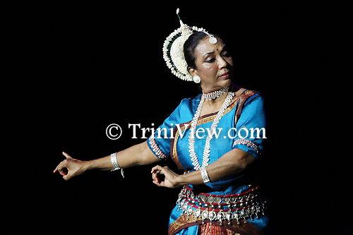 Co-founder and artistic director of Nrityanjali Theatre, Mrs. Mondira Balkaransingh