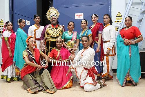 Members of the Nrityanjali Theatre