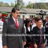President of Venezuela, Nicolás Maduro visits T&T