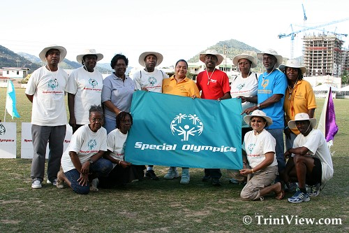 Members of Special Olympics Cricket Organizing Committee