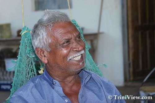 Mr. Boodoo Ramsaroop, villager of Icacos