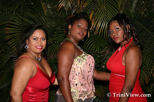 Models at the Macafouchette Size 12 and Over Fashion Show
