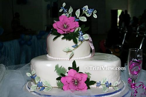 Cake on display