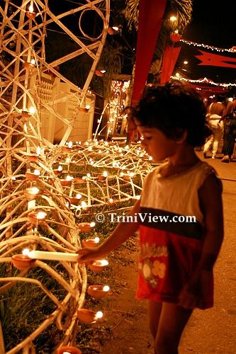 Divali Celebrations in Patna Village, Diego Martin