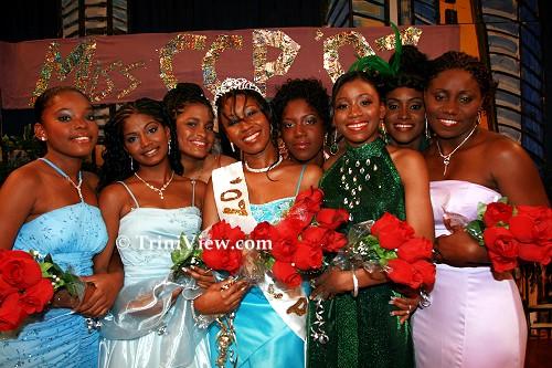 The Miss Curvaceous Caribbean Princess 2007 contestants