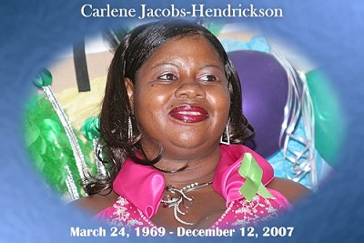 Carlene Jacobs-Hendrickson's Send-Off