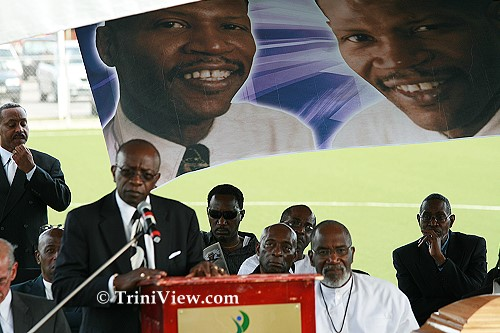 Jack Warner pays tribute to Terry Joseph