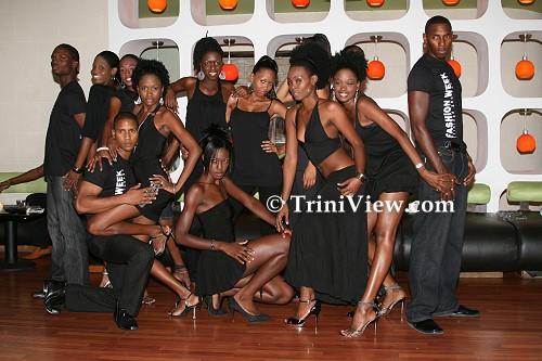 Fashion Week Trinidad and Tobago 2008 Models
