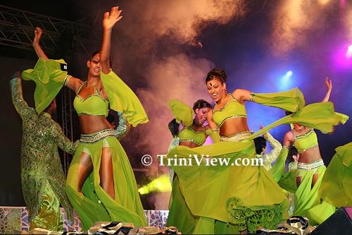Bollywood-style performance