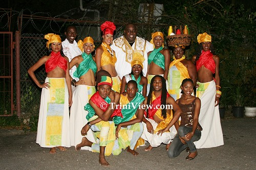 The delegates of Mr. and Miss Emancipation Cultural Pageant 2008
