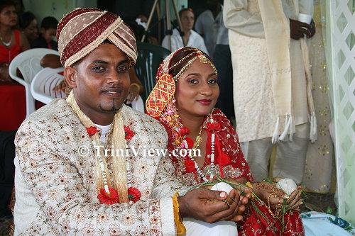 Hansraj Ramlal and Annesa Bissram