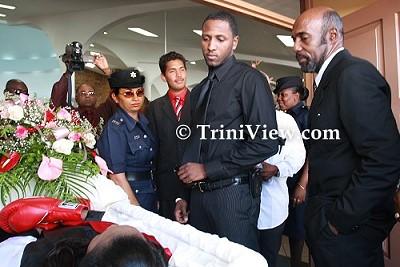 Funeral Service for Jizelle Salandy
