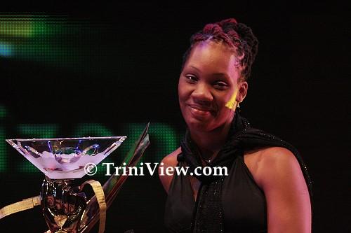 Josanne Salandy, sister of the late Jizelle Salandy, Sportswoman of the Year