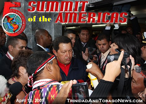 The Fifth Summit of the Americas in pictures
