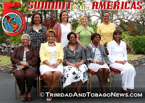 Spouses of the visiting Heads of Government Retreat to Point-a-Pierre