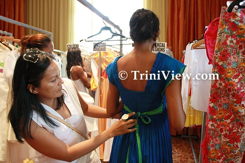 Dianne Hunt, founder of Fashion Week Trinidad and Tobago, and head of Radical Designs