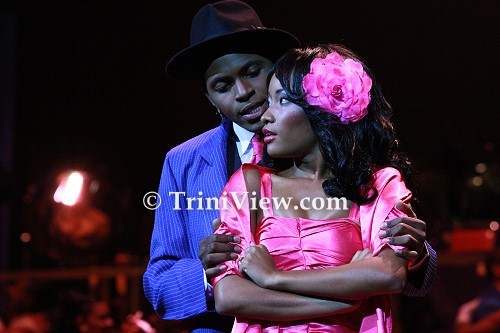 Two of the main protagonists, 'Tan Tan' and 'Saga Boy', in a scene from 'Dance Me, Lover'