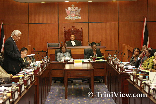 Budget presentation in Parliament at the Waterfront Complex