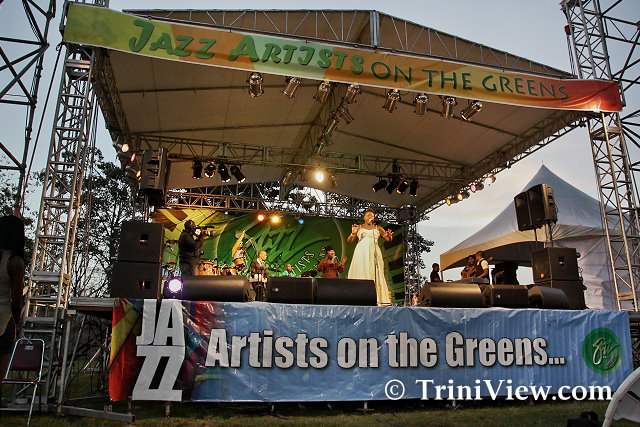 Jazz Artists on the Greens 2012