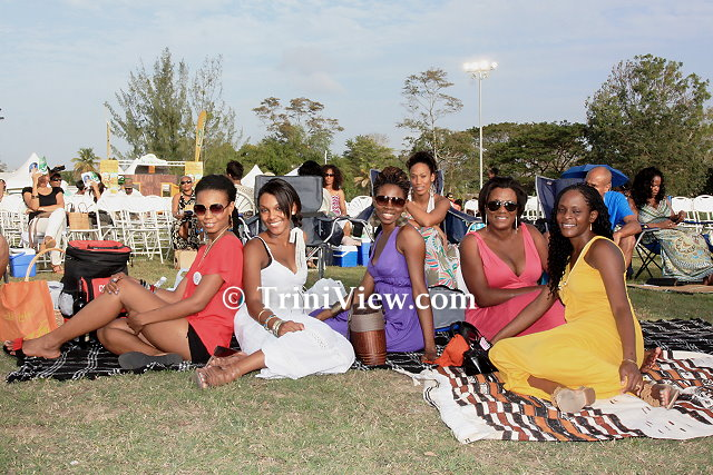 Cross-section of patrons at Jazz Artists on the Greens 2012