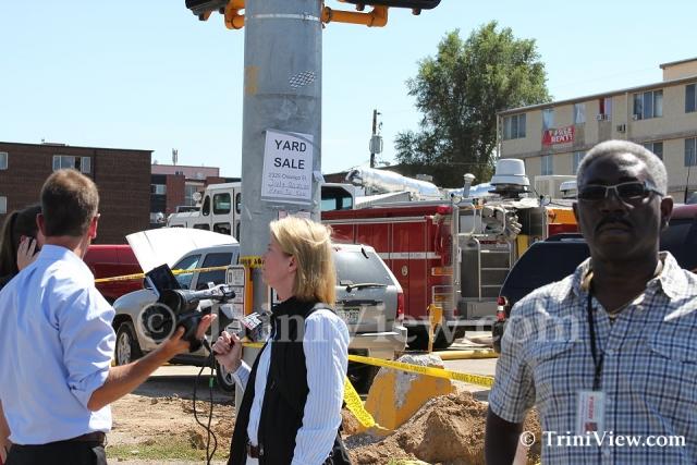 Fox News reporter Greta Van Susteren and TrinidadAndTobagoNew.com representative (R)