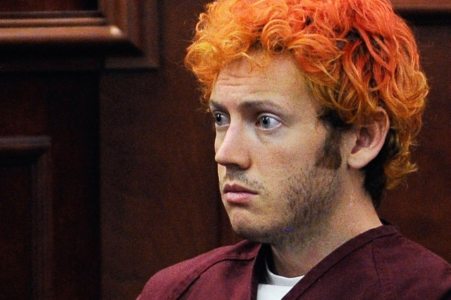 James Holmes in his first court appearance