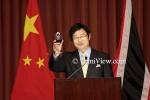Celebrating the Assumption of New Chinese Ambassador