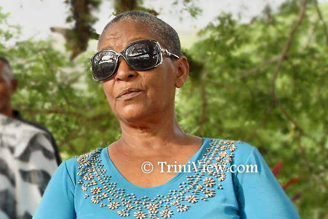 Germaine ' Jenny' Oliver, secretary of Chaguaramas Legal Land Owners