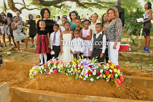 Family and friends bid farewell to Mr. Noel