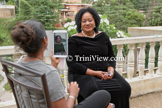 Donna Mark, former wife of Mr. Augustin Noel speaks with a TriniView.com reporter