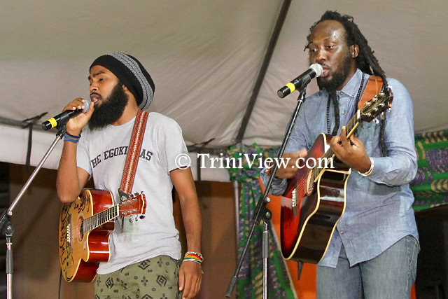 Freetown Collective members, Muhammad Muwakil and Lou Lyons