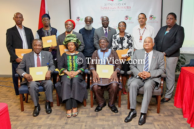 Members of the Trinidad and Tobago National Committee on Reparations