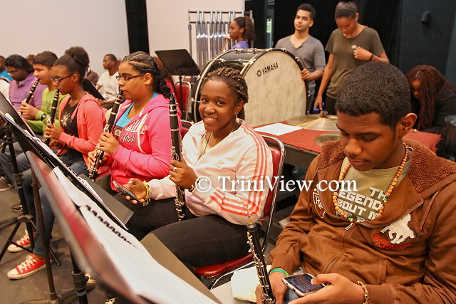 Trinidad and Tobago Youth Philharmonic rehearsals