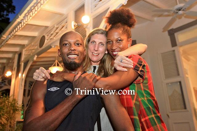 COCO Dance Festival founders Dave Williams, Nancy Herrera and Sonja Dumas