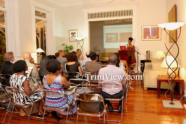 Ms. Sonja Dumas, Founder and Director of COCO, presents an overview of COCO