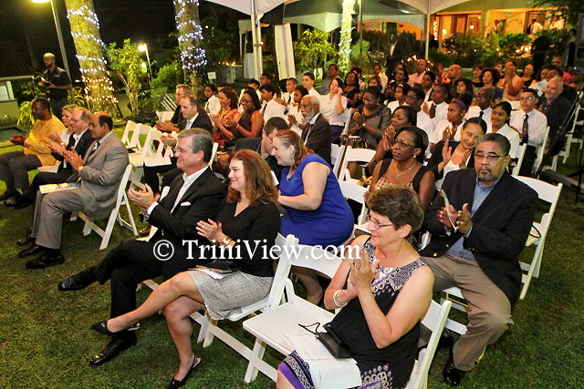 Cross-section of the audience at the Cubes in Space awards ceremony