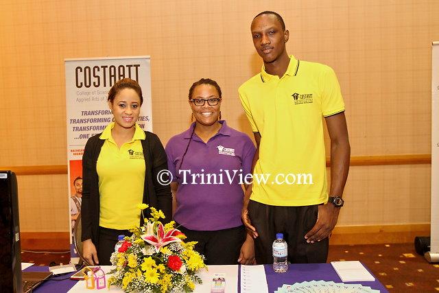 Representatives from COSTAATT