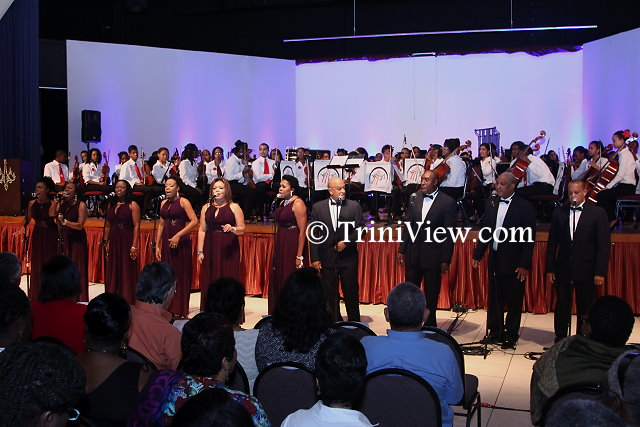 Euangelion Singers accompanied by the Trinidad and Tobago Youth Philharmonic Orchestra
