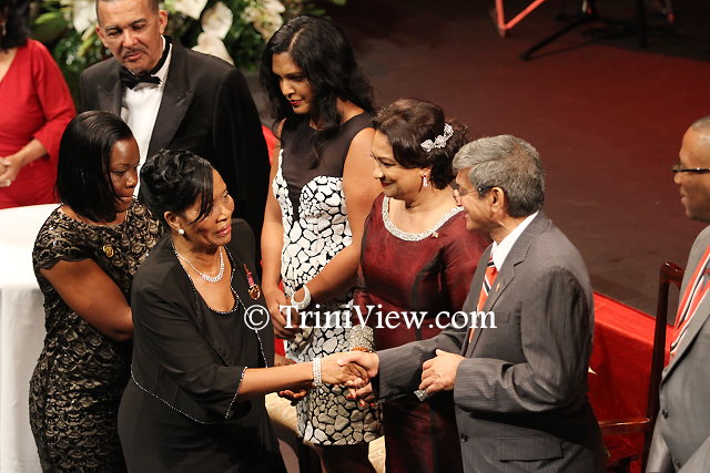 Dr. Daphne Phillips received the Medal For The Development of Women Gold