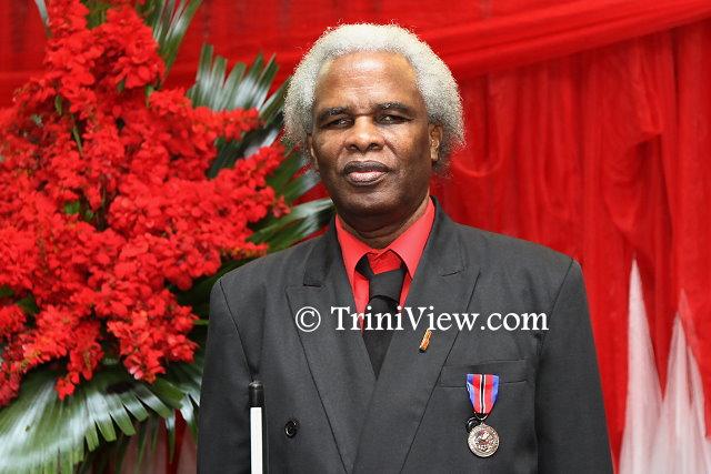 Mr. Ashford Joseph, recipient of the Humming Bird Medal, Bronze