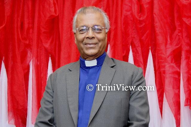 Reverend Daniel Teelucksingh, recipient of the Public Service Medal of Merit, Gold
