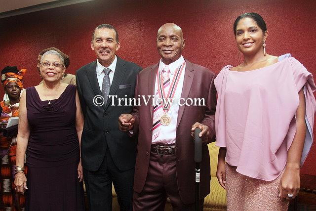 Sparrow Receives Order of the Republic of Trinidad and Tobago