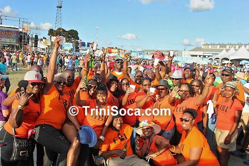 Kaiso fans at Skinner Park, San Fernando