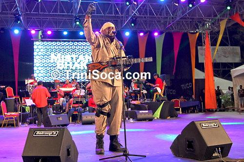 Selvon 'Mistah Shak' Noel performs 'Target'