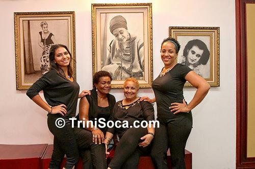 Ushers at the Little Carib Theatre