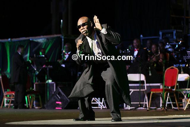 Winston 'The Original De Fosto Himself' Scarborough performs his song 'Games'