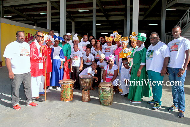 Members of the Northwest Laventille Cultural Movement, one of the many groups with whom Junior Noel worked